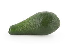 Avocado isolated on white. Background with clipping path Stock Photos