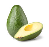 Avocado isolated on white Royalty Free Stock Image