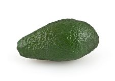 Avocado isolated on white Stock Images