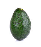 Avocado isolated on the white background Stock Photo