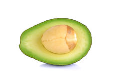 Avocado isolated on the white background Royalty Free Stock Images