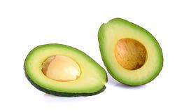 Avocado isolated on the white background Stock Image