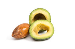 Avocado isolated Royalty Free Stock Images