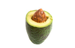 Avocado isolated Stock Image