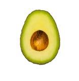 Avocado isolated on white background Stock Images