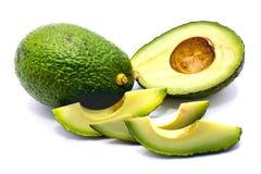 Avocado isolated on white background Stock Image
