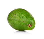 Avocado isolated on white Royalty Free Stock Images