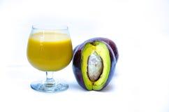 Avocado juice Royalty Free Stock Image
