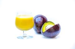Avocado juice Stock Image