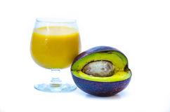 Avocado juice Stock Photography