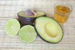 Avocado and Lime Stock Photo