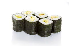 Avocado maki Stock Photo