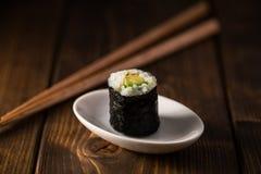 Avocado maki sushi Stock Photos