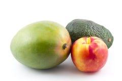 Avocado Mango Nectarine Stock Photos