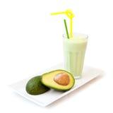 Avocado milkshake Stock Photos