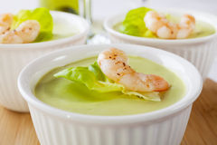 Avocado Mousse Stock Photography
