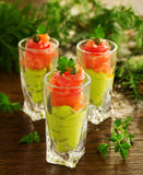 Avocado mousse Royalty Free Stock Images