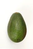 Avocado na biel Zdjęcie Stock