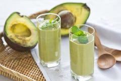 avocado napoju zdrowy smoothie Zdjęcia Royalty Free