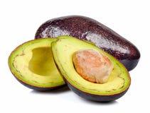 Avocado odizolowywający na białym tle Obraz Stock