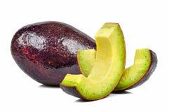 Avocado odizolowywający na białym tle Zdjęcie Stock