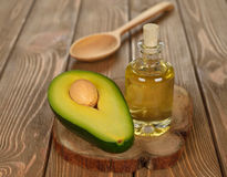 Avocado oil Stock Photos