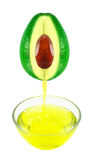 Avocado oil Stock Photography