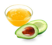 Avocado oil Royalty Free Stock Image