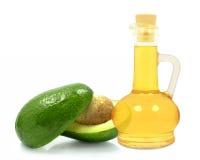 Avocado oil Stock Image