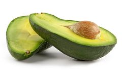 Avocado-oily nutritious fruit Stock Photography