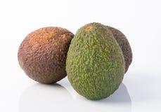 Avocado Avocado op een Achtergrond Stock Fotografie