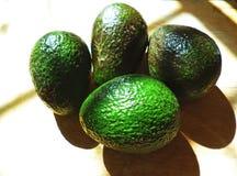 Avocado op een scherpe raad Royalty-vrije Stock Foto