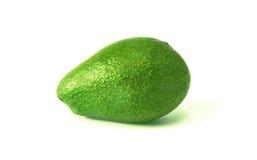 Avocado op witte achtergrond Stock Foto's