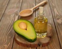 avocado opadowy ilustraci olej stylizujący zdjęcia stock
