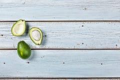Avocado, owoc, dieting, je, egzot, jarosz, witamina, przekąska, kopii przestrzeń zdjęcie stock