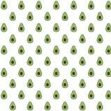 Avocado pattern background / green royalty free stock photos