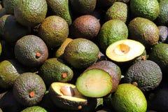 Avocado pears Royalty Free Stock Photos