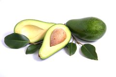 Avocado Pears Royalty Free Stock Photo