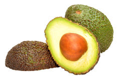 Avocado Pears Royalty Free Stock Photography