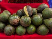 Avocado placed on the market. Royalty Free Stock Photos
