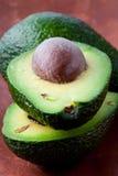 avocado połówki obraz royalty free