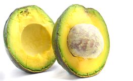 Avocado qua bo Vietnam. Avocado is famous in highland areas in Vietnam such as Dalat, Tay Nguyen, Lam Province... Ripe avocados that yield to gentle pressure royalty free stock photo