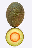 Avocado Question Mark Stock Photography