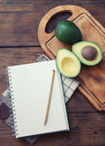 Avocado recipe Royalty Free Stock Photo
