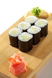 Avocado Roll Stock Image