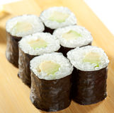 Avocado Roll Stock Photo