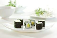 Avocado Roll Stock Photography
