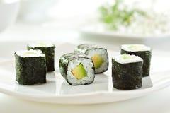 Avocado Roll Stock Photo