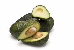 Avocado's om te maken guacamole. Stock Foto's