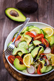 Avocado sałatka zdjęcie royalty free